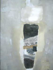 """El Morro 7""Mixed Media32.5"" x 48"""